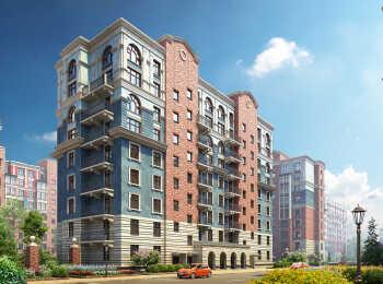 Квартиры с французскими балконами в жилом комплексе Видный город